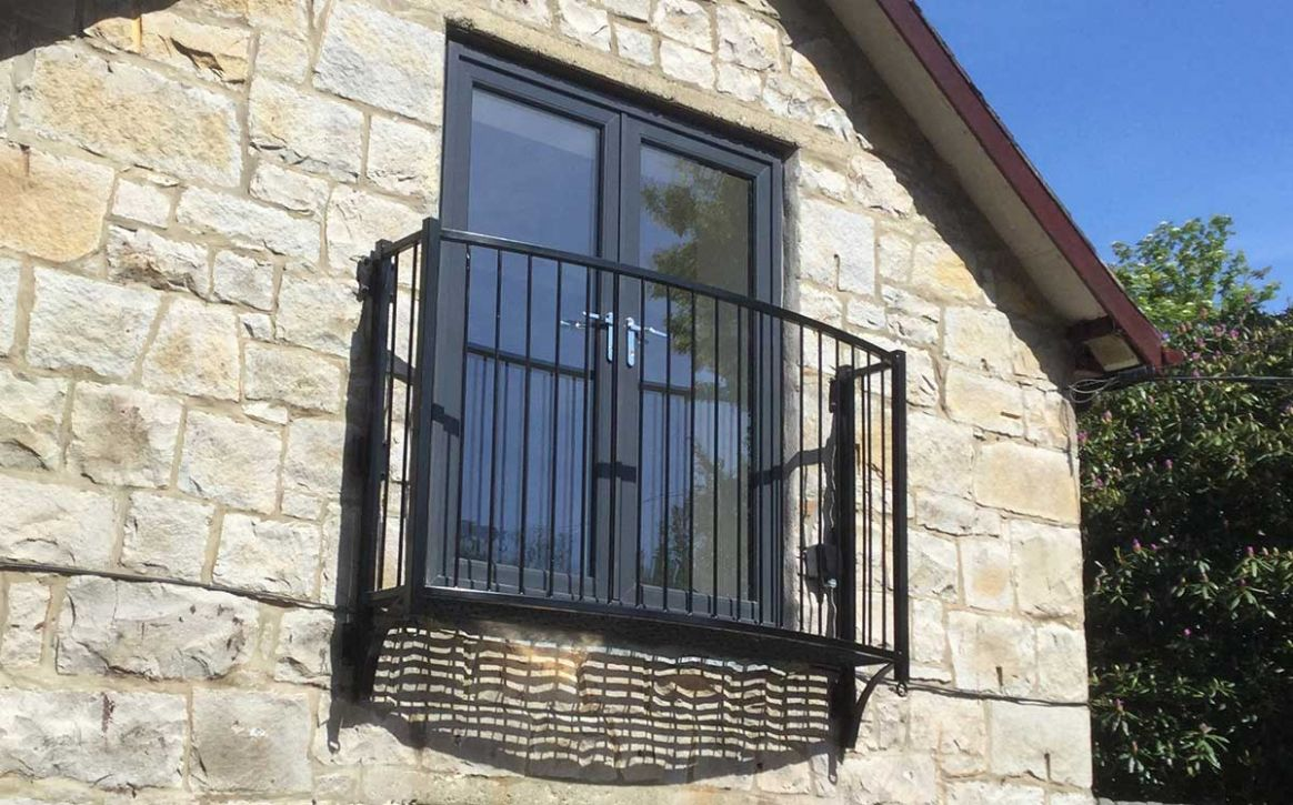 Small Platform Balconies - range of styles and designs