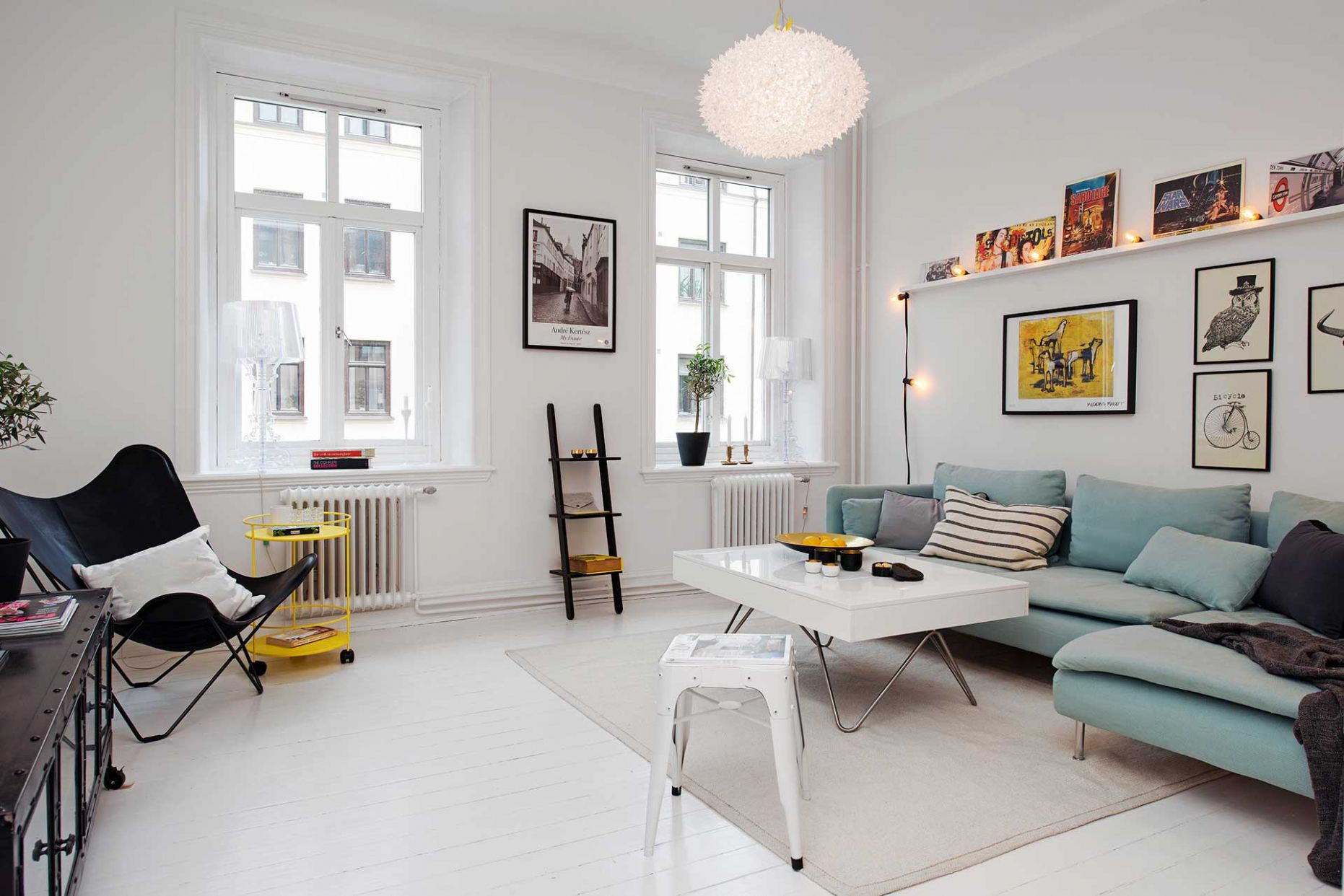 Small Scandinavian Apartment is Big on Impressions – Adorable Home