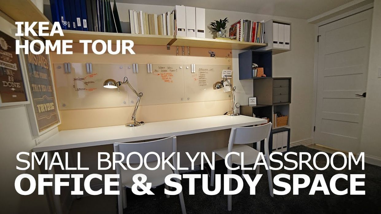 Small Space Office Ideas - IKEA Home Tour (Episode 9) - ikea home office ideas uk