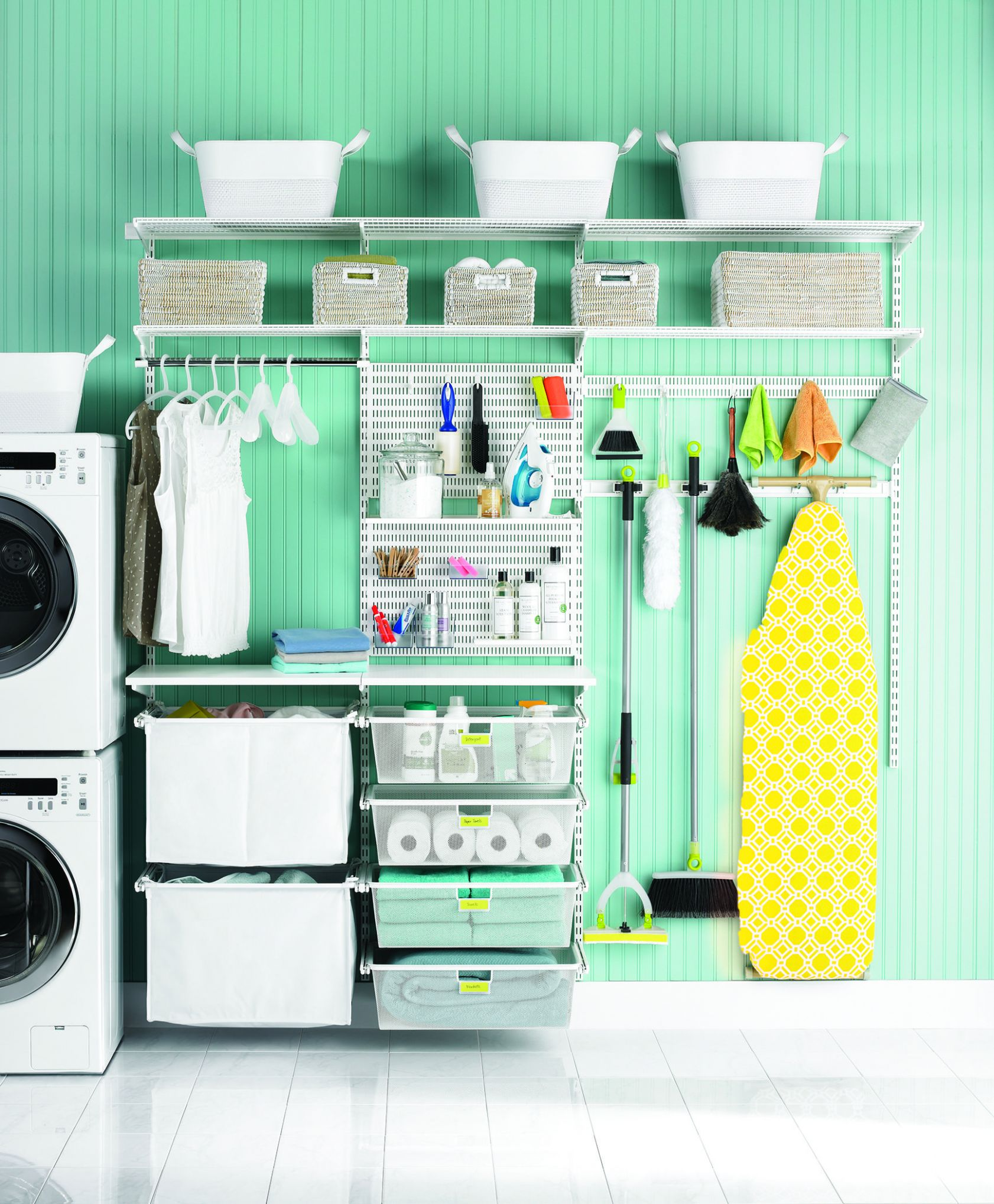Sort out your laundry room challenges with elfa! | Laundry room ..