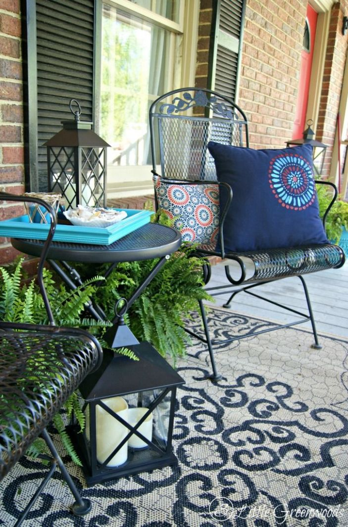 Southern Front Porch Decorating Ideas • Porches Ideas - front porch ideas diy