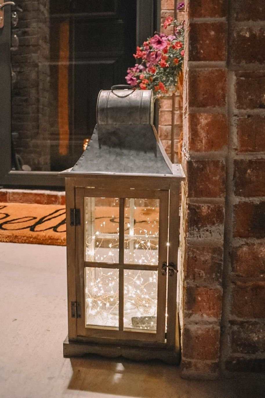 Spring Front Porch Tour and DIY Solar Lantern, Cute Ideas For Your ..