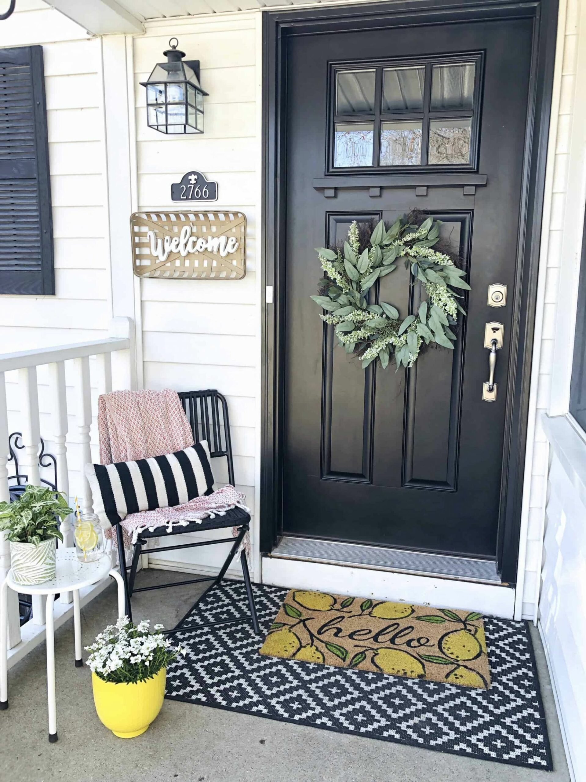 Spring Small Front Porch Decor: 12 Budget Friendly Decorating Ideas ...