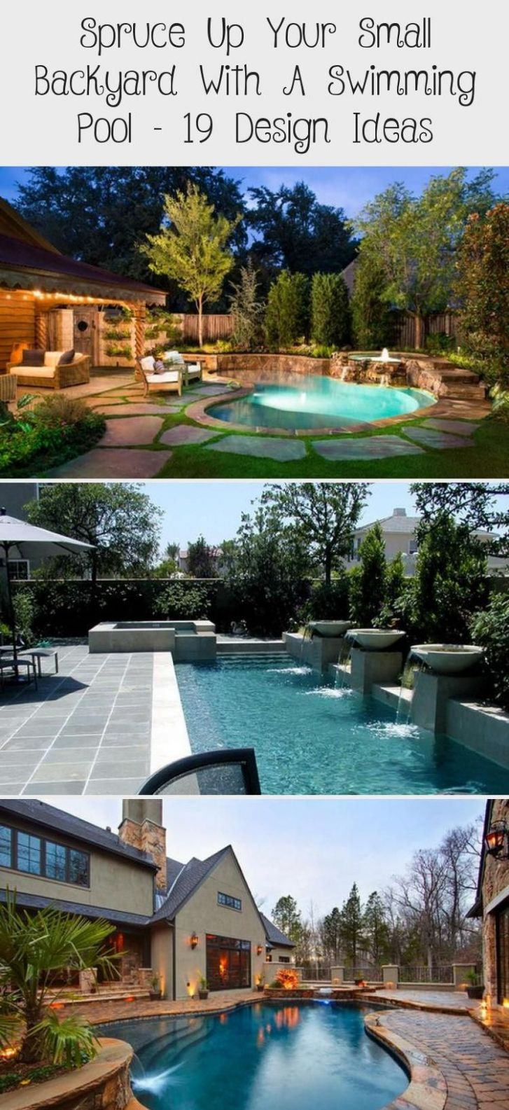 Spruce Up Your Small Backyard With A Swimming Pool – 11 Design ...