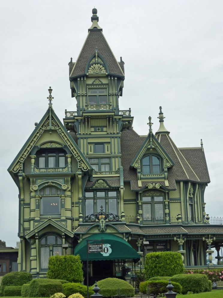 Steam-powered inspiration - melodysmuse: Victorian Mansions of ...