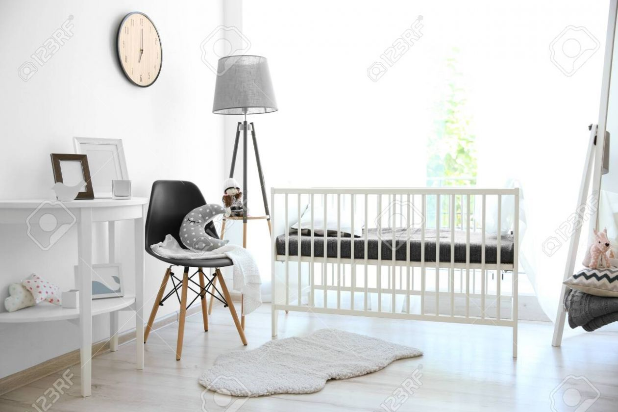 Stock Photo - baby room flooring
