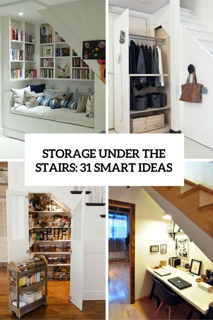 Storage Under The Stairs: 11 Smart Ideas - DigsDigs