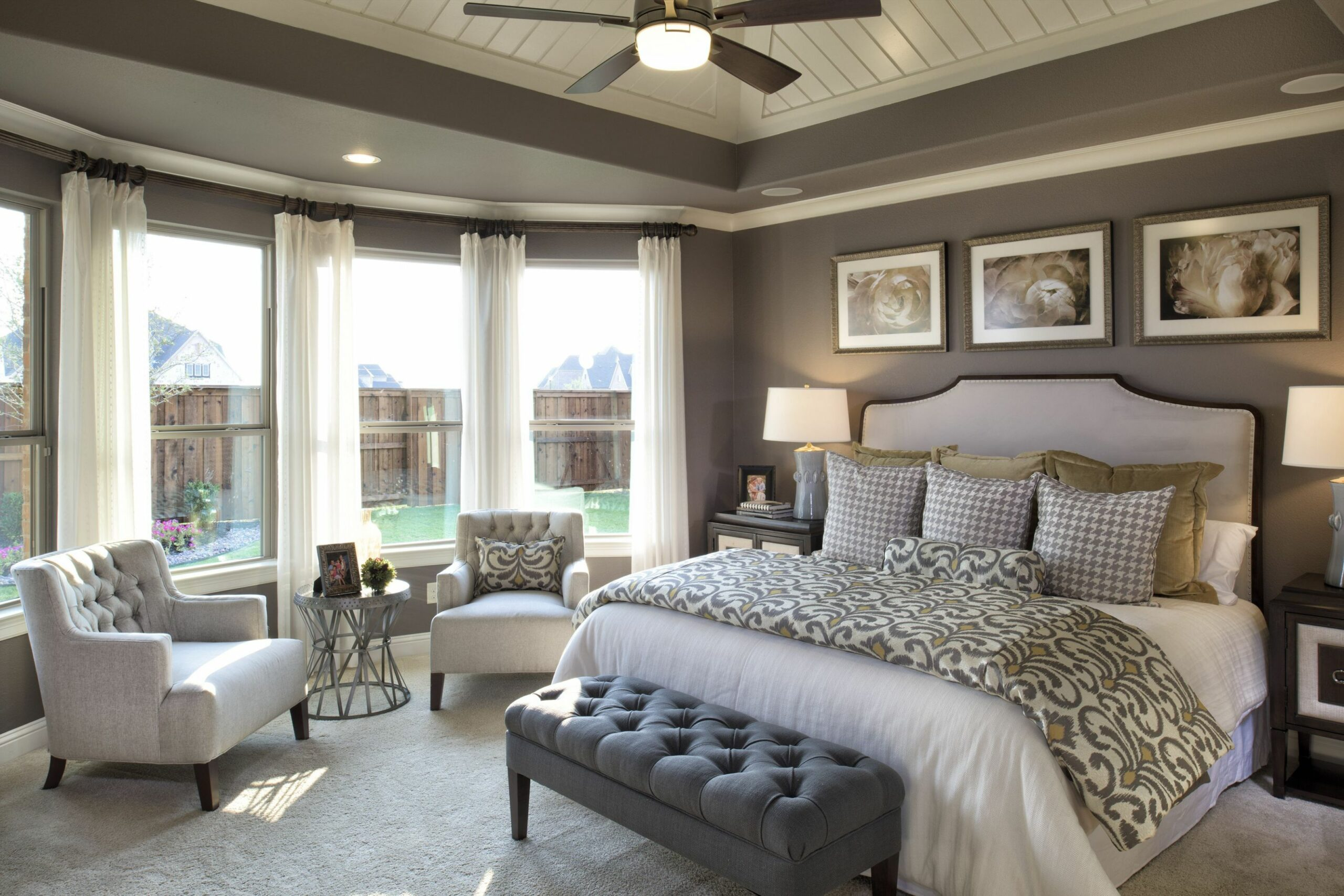 Strong neutrals, beautiful furniture and accents. #DarlingHomes ...