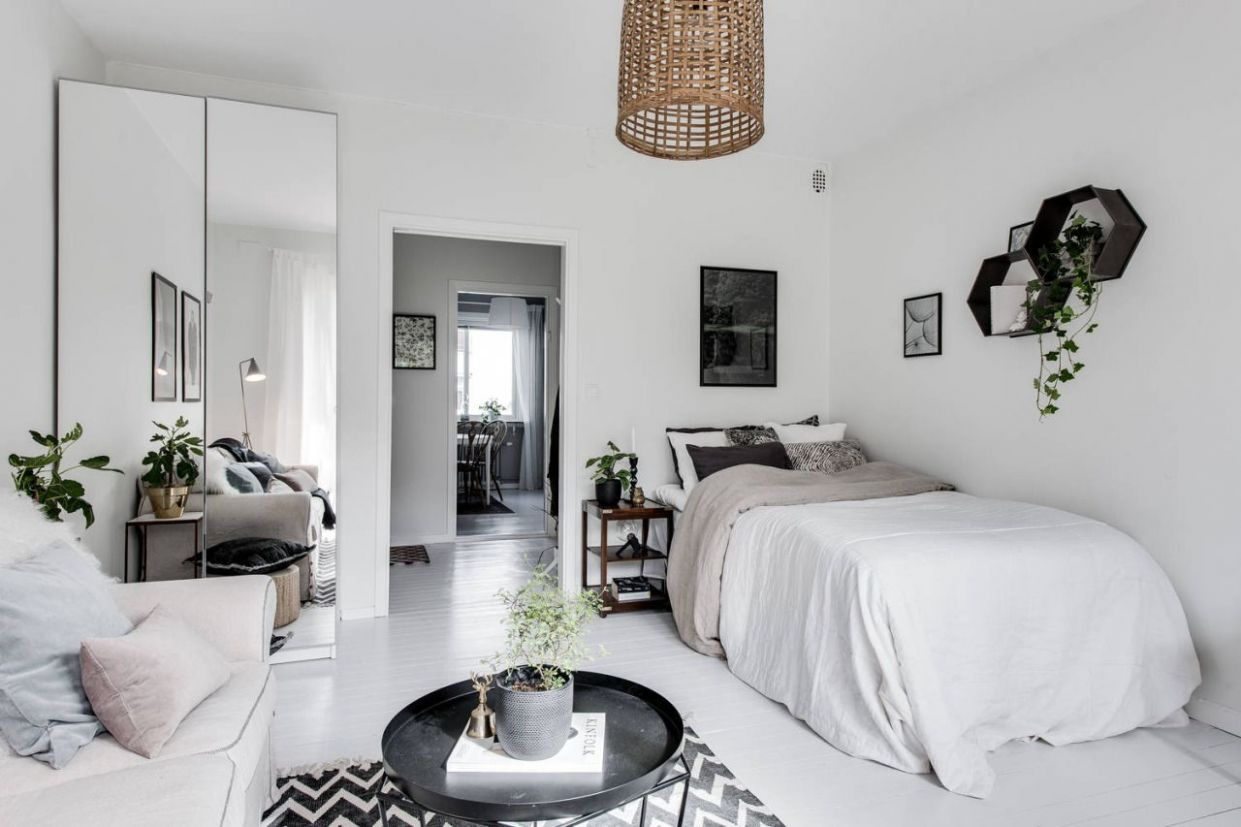Studio apartment via Reveny gravityhomeblog.com - instagram ...