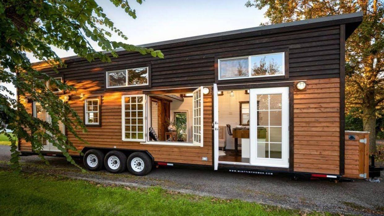 Stunning 12ft Tiny House RV with Large Casement Window | Small ..