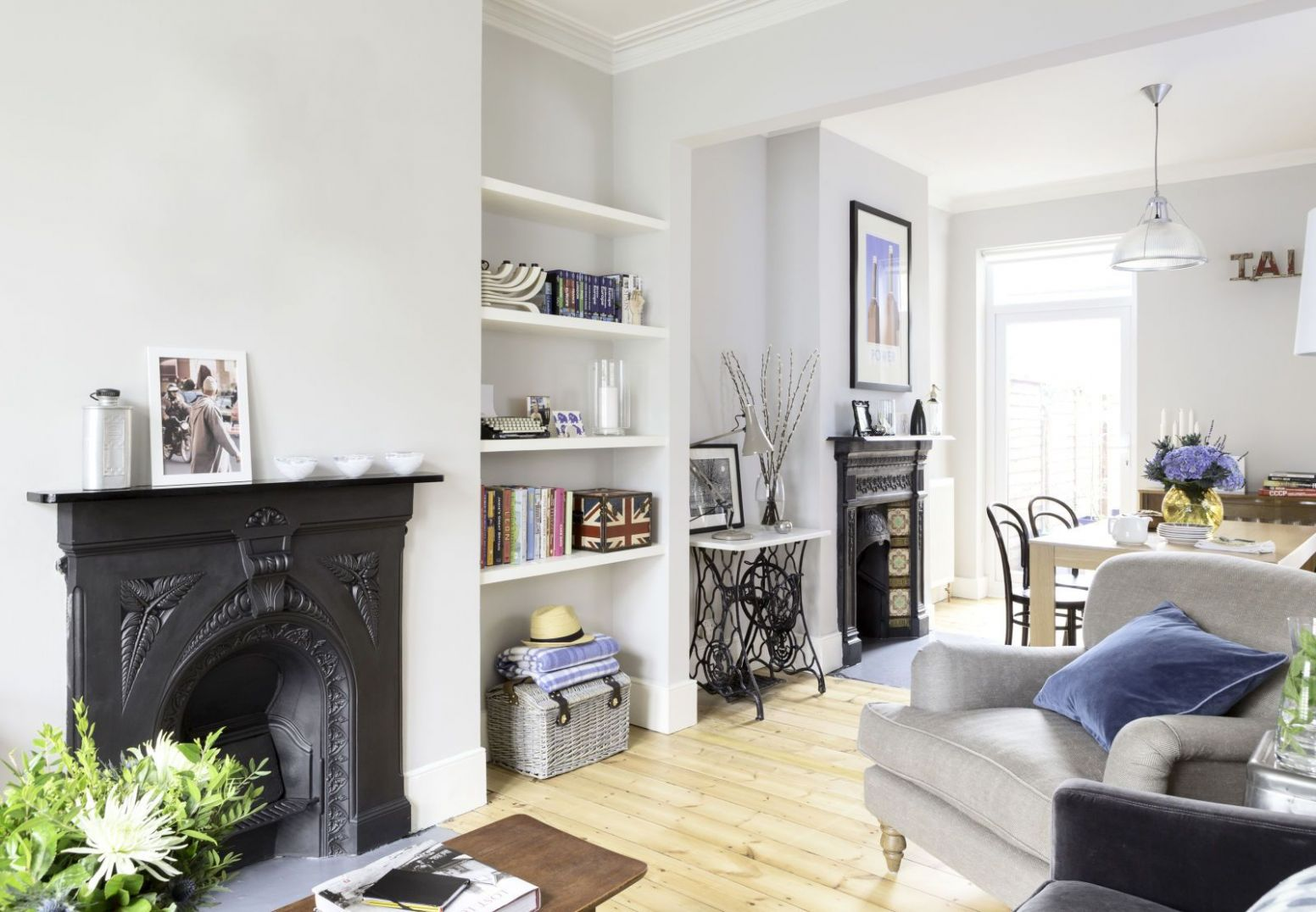Stunning in suburbia | Victorian living room, Victorian terrace ..