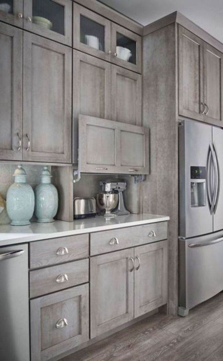 Stunning Kitchen Cabinets Grey Color Ideas | Rustic kitchen ..
