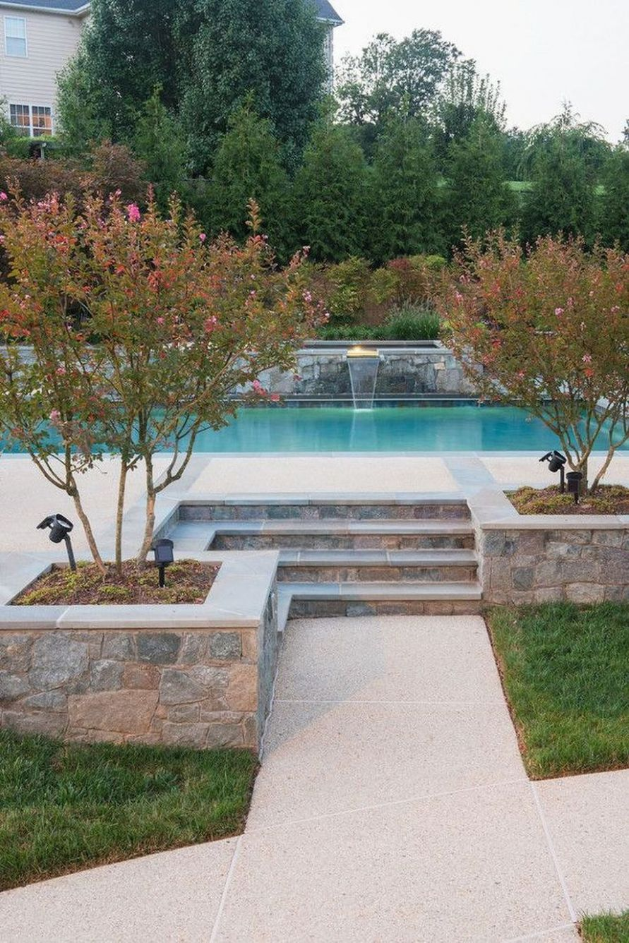 Stunning Outdoor Pool Landscaping Designs Inspirations | Pool ..
