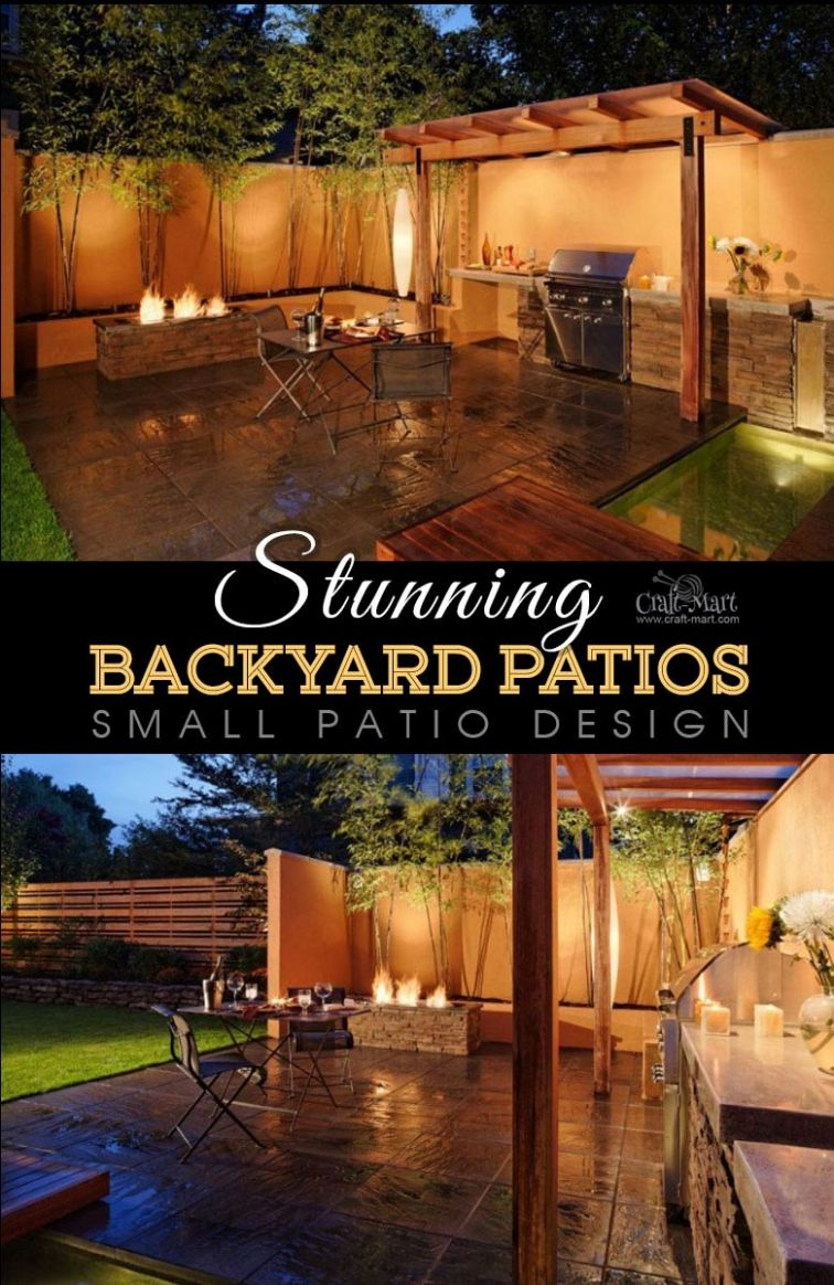 Stunning Patios with Lights (DIY Patio Lighting Ideas) - Craft-Mart - backyard ideas lights
