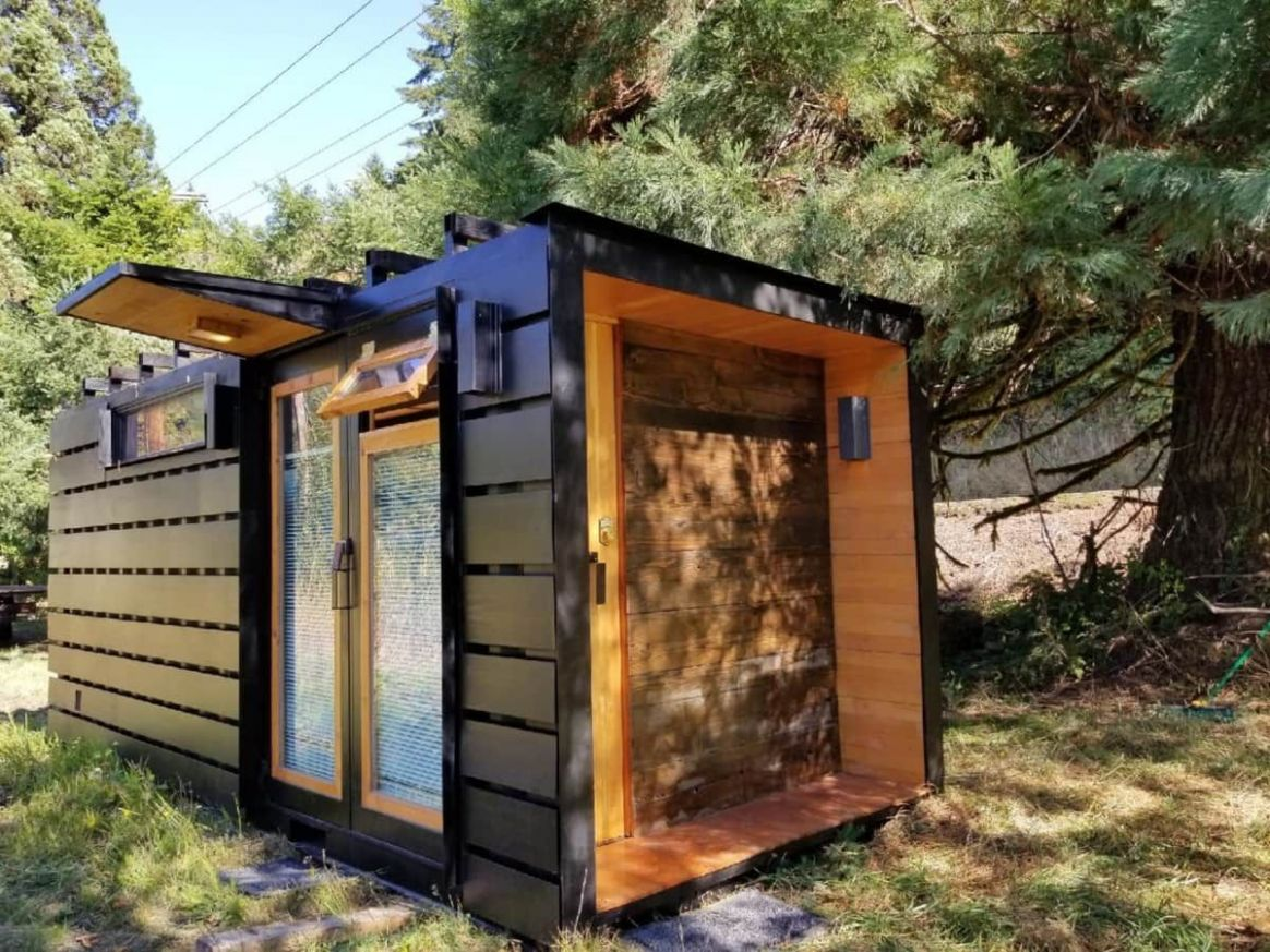 Stunning, Sustainable Shipping Container Home - Just Needs Your ...