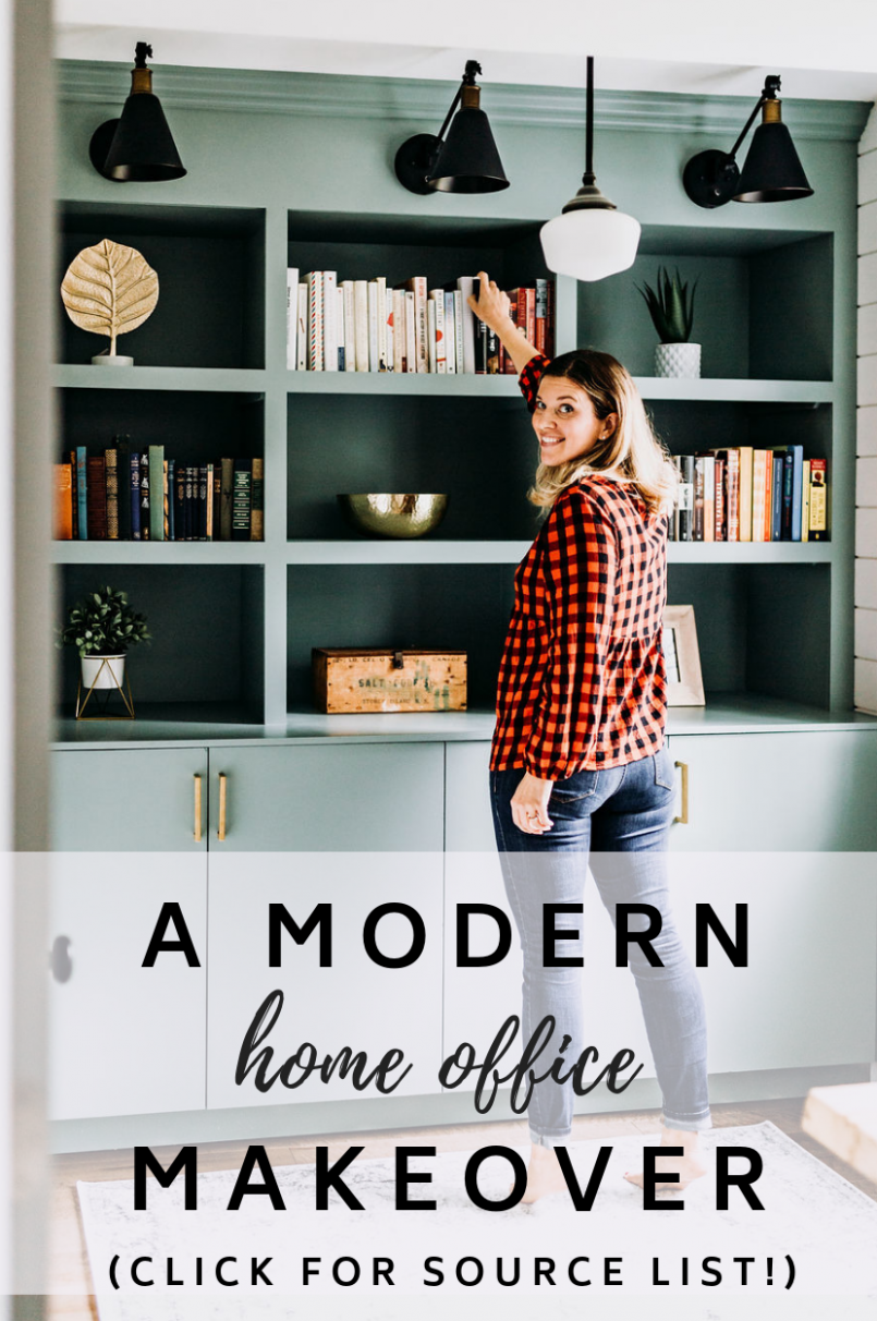 Stylish Home Office Decor [Before & After Makeover!] | Home decor ...