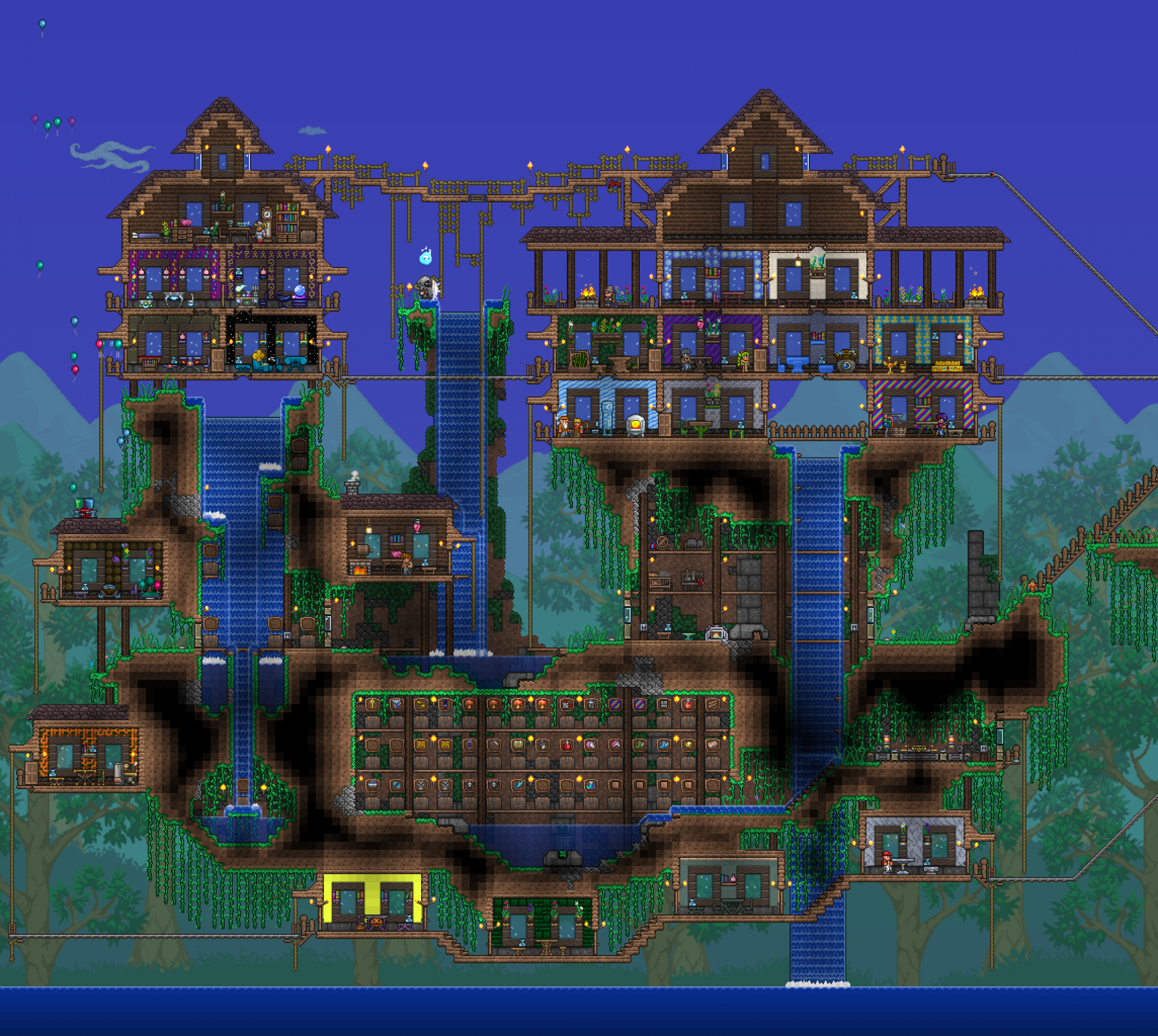 Submitting my humble new hard mode floating base. Took some ...