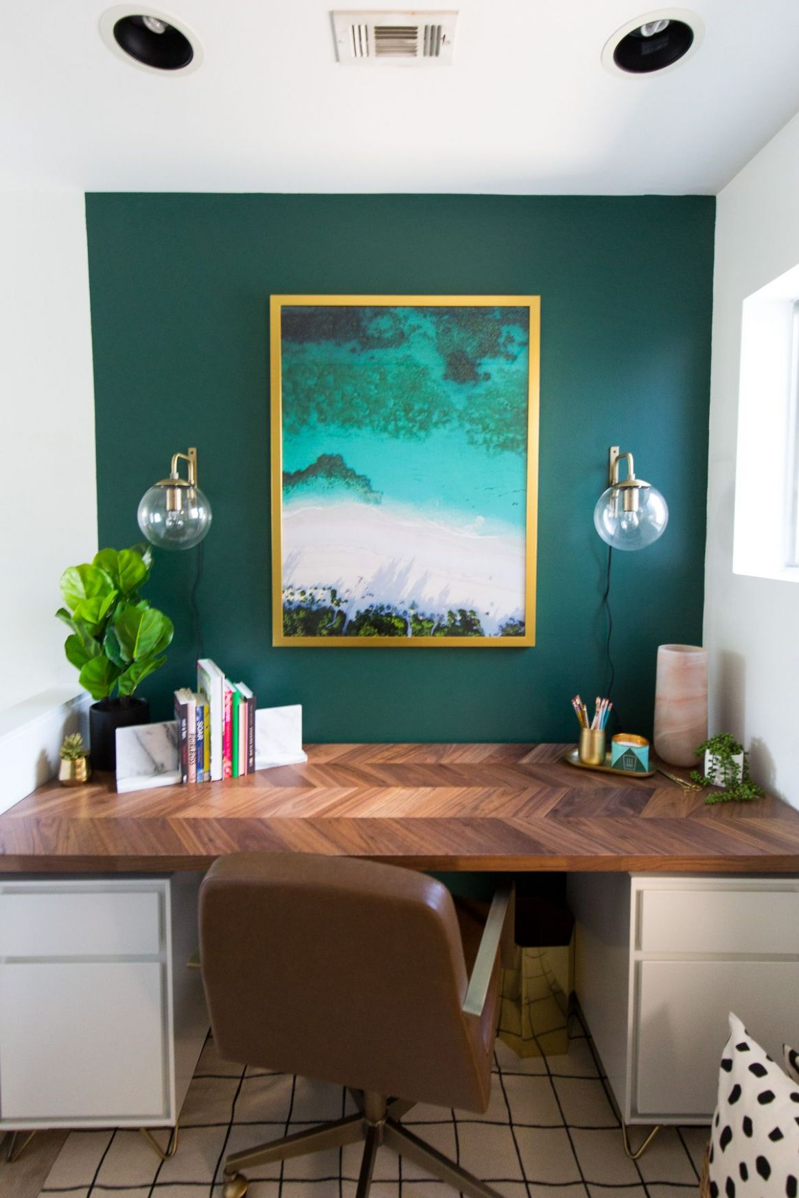 SUGARANDCLOTHCASA: Before + After of our Study Room Makeover (+ ...