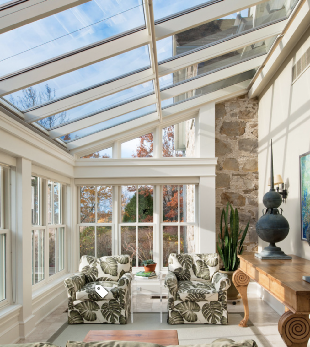 Sunroom and other house projects that are on our to do list ..