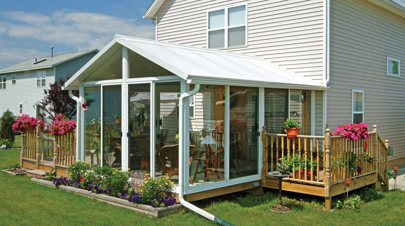 Sunroom Kit, EasyRoom™ DIY Sunrooms | Patio Enclosures - small sunroom kits