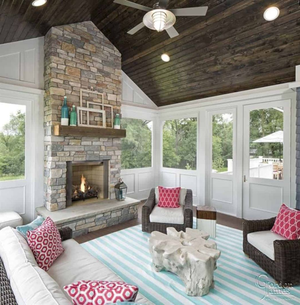 Sunroom Lighting Ideas: Fixtures, Ceiling Fans, & Lamps for ...
