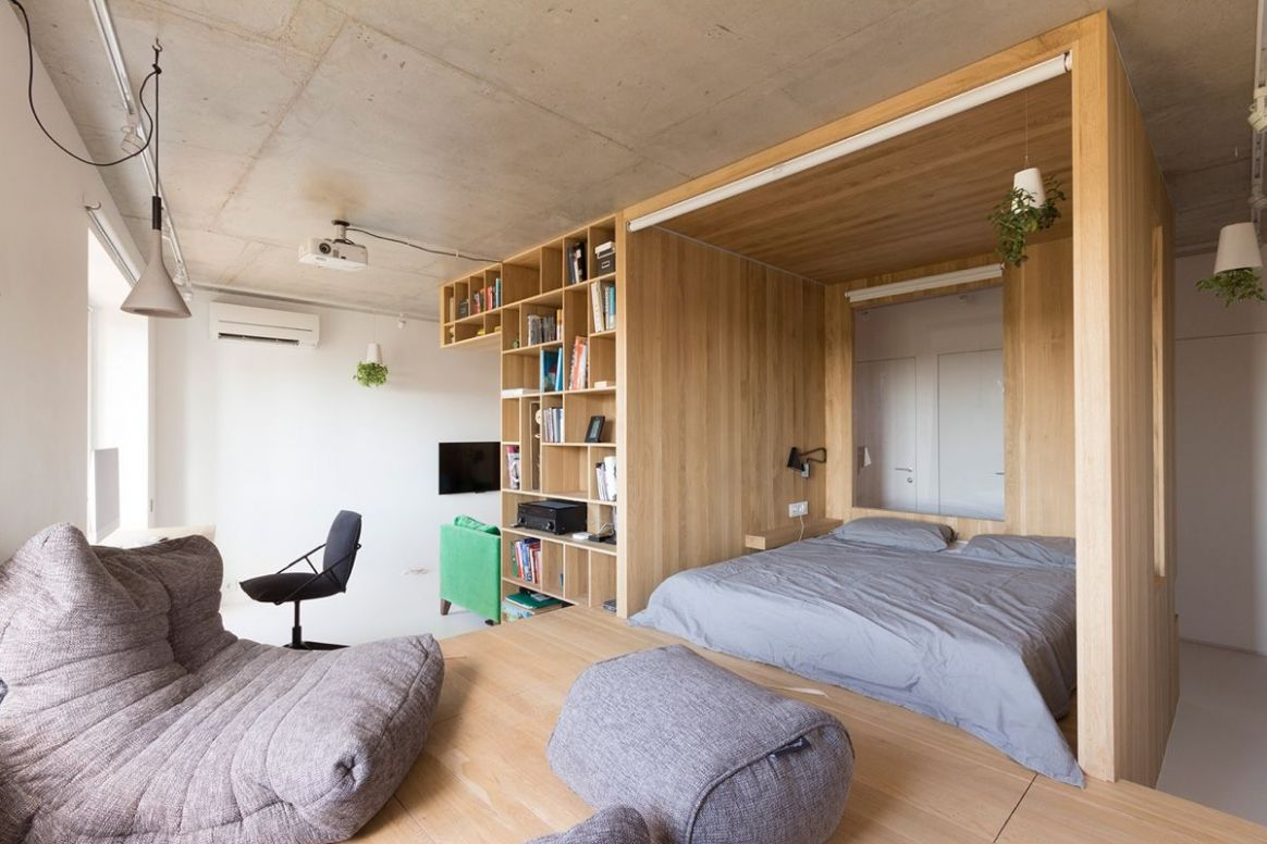 Super Small Studio Apartment Under 12 Square Meters (Includes ...