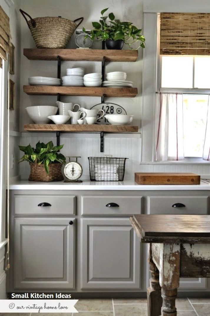Sweet Small Kitchen Ideas And Great Kitchen Hacks for DIY Lovers ...