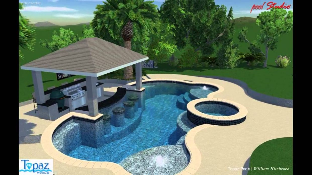 Swim Up Bar Pool video (With images) | Luxury swimming pools ..