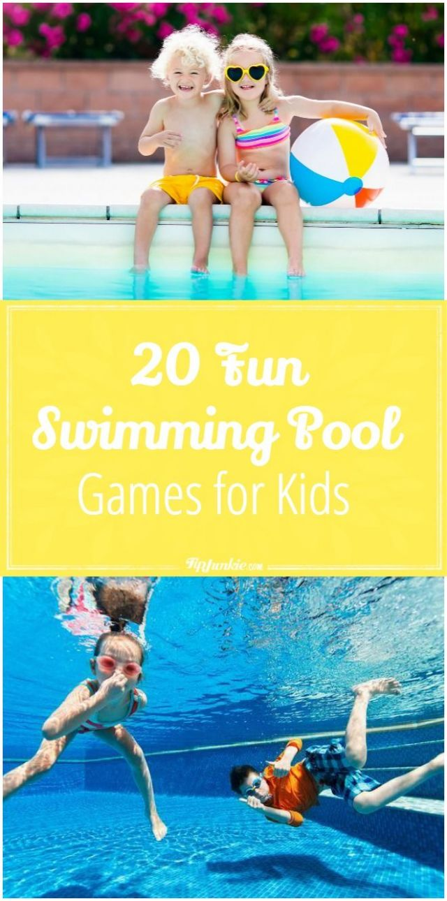 swimming pool games ideas for kids, adults, families, teens, very ...