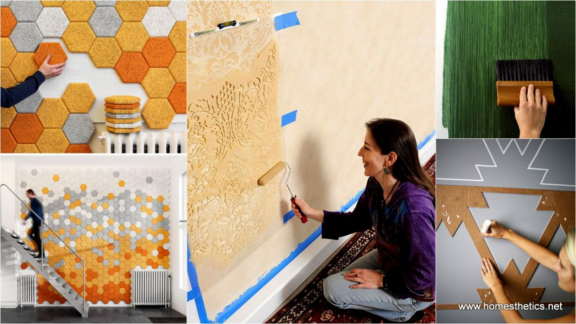 Temporary DIY Wall Treatment Ideas For Renters - wall decor ideas for renters
