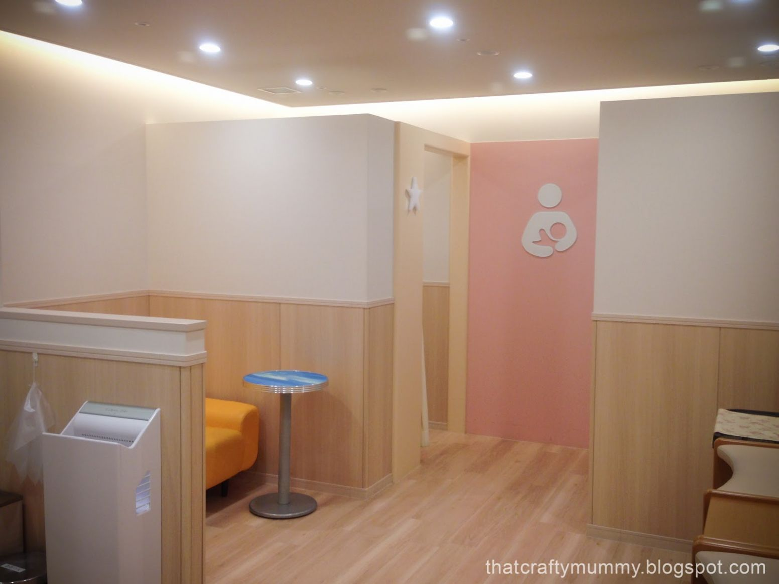 That Crafty Mummy: Travelling Japan: Baby Room and Breastfeeding - baby room klia