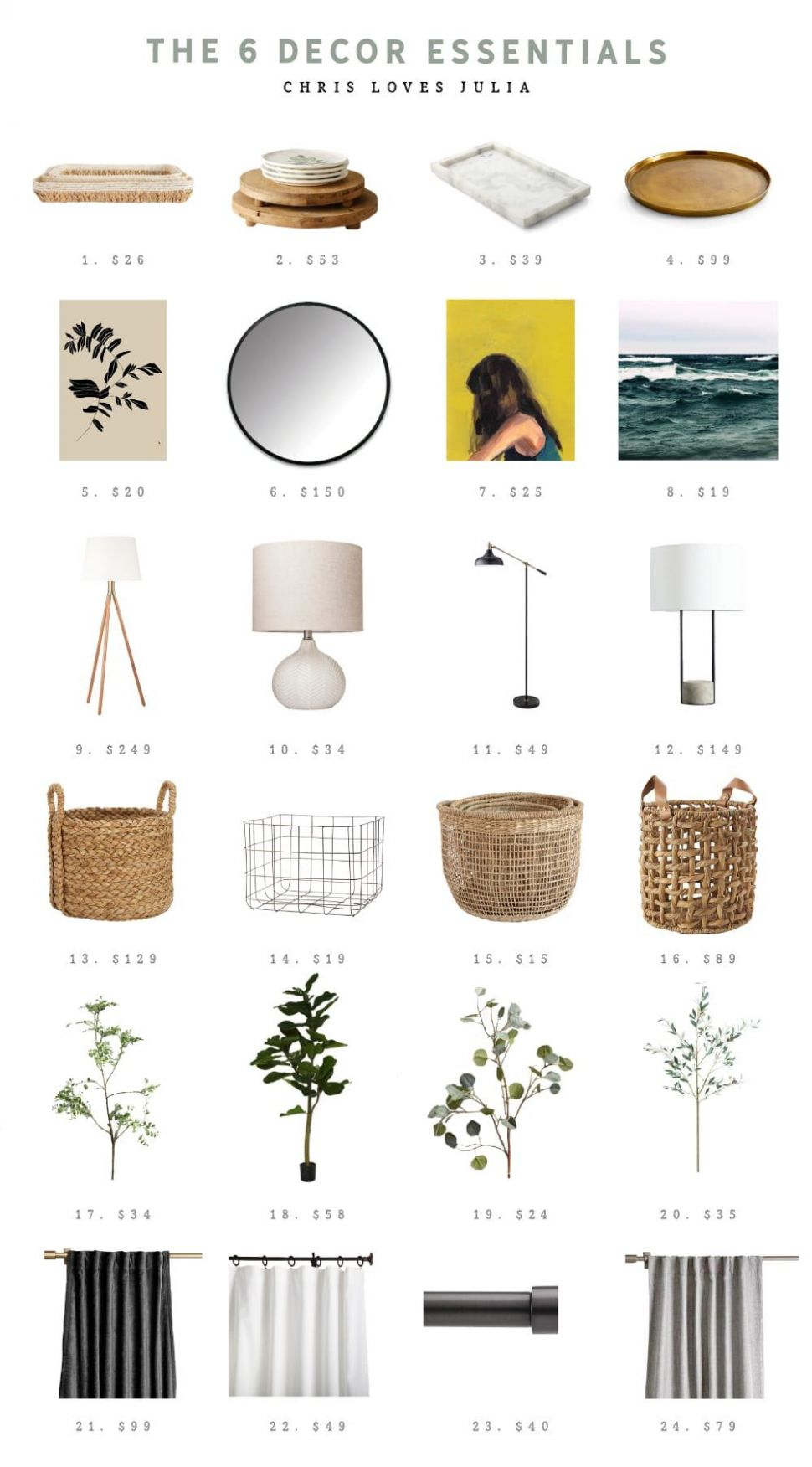 The 10 Decor Essentials Every Room Needs | Home decor accessories ...