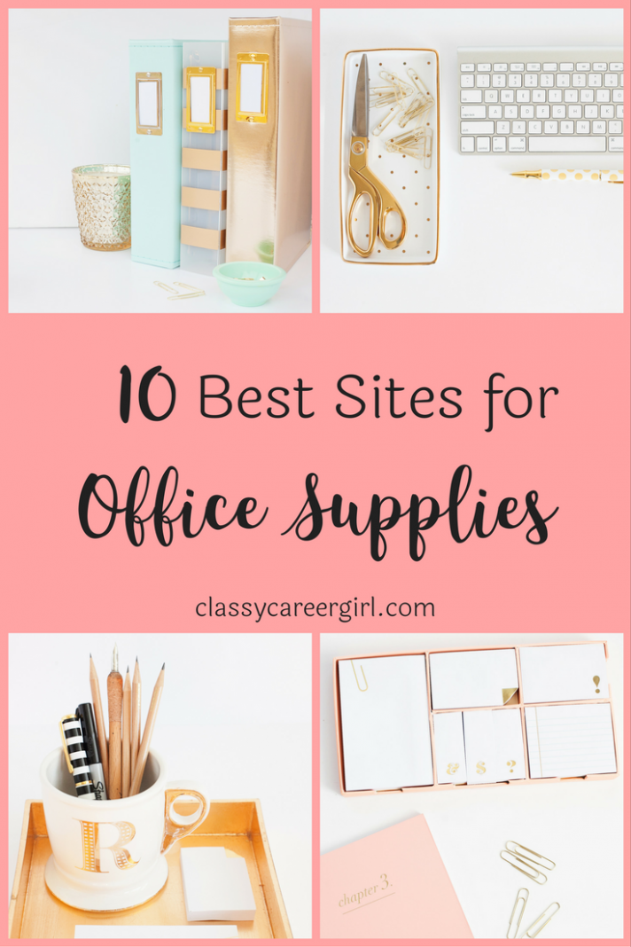 The 11 Best Sites For Office Supplies | Home office decor, Home ..