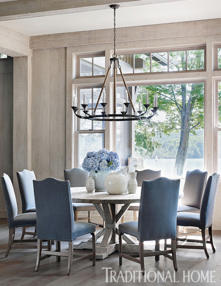 The 11 Most Beautiful Dining Rooms on Pinterest | French country ..