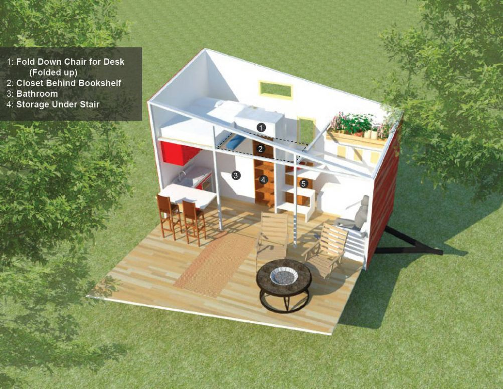 The Atlas Blends Off-Grid Essentials With Modern Style & Comfort - tiny house essentials