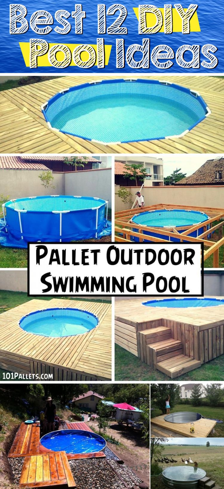 The Best 12 DIY Pool Ideas – Cute DIY Projects - pool ideas diy