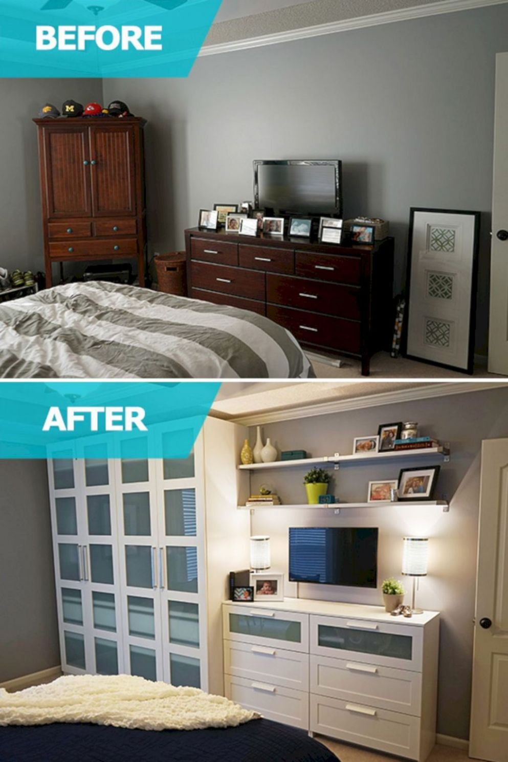 The Best Bedroom Storage Ideas For Small Room Spaces No 8 ..