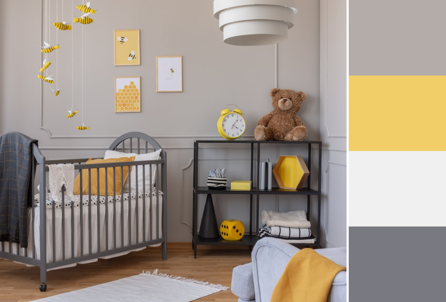The Best Nursery Colors + Complementary Themes | Shutterfly