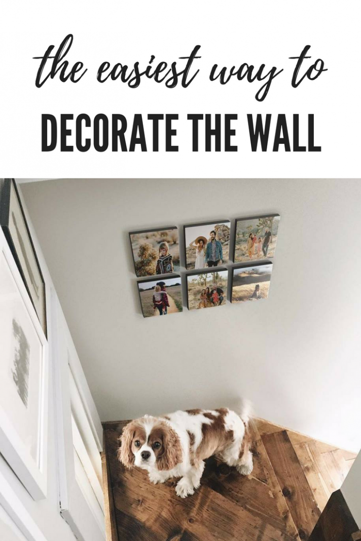 The Easiest Way to Decorate Walls. No nails needed! No damage to ...
