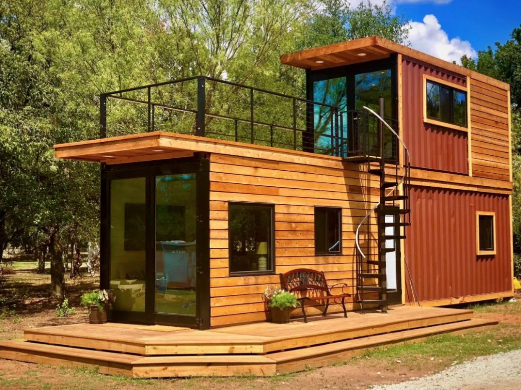The Helm Shipping Container Cabin by CargoHome - tiny house vacation rental