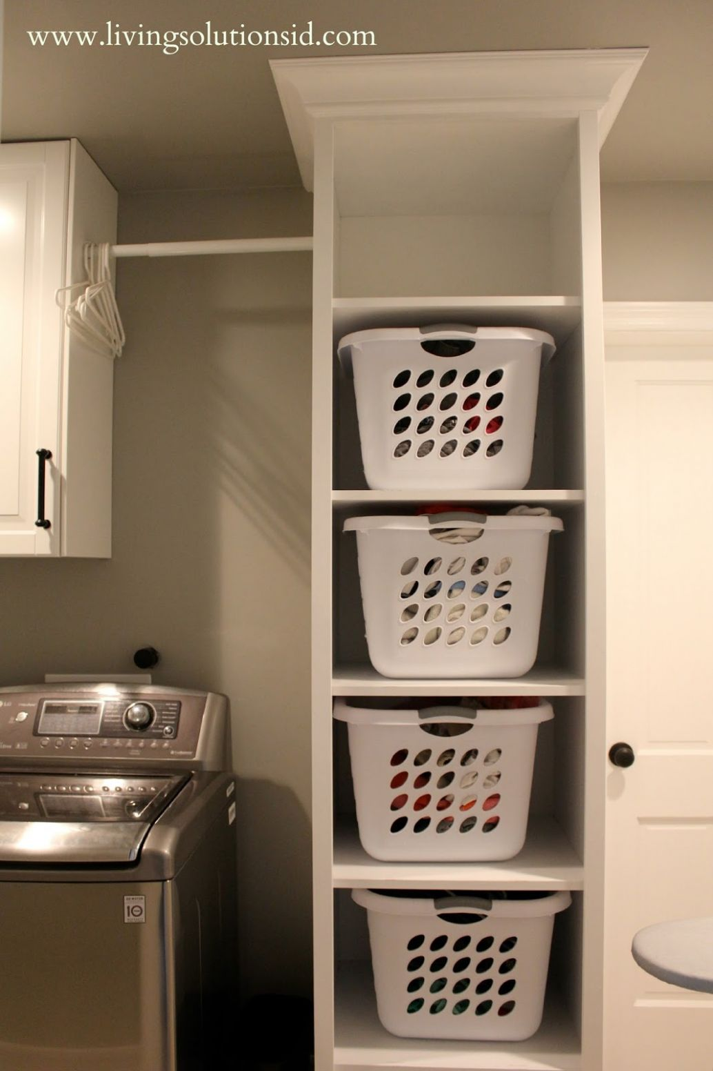 The Laundry Room Today, Laundry Room Storage And Hamper ..