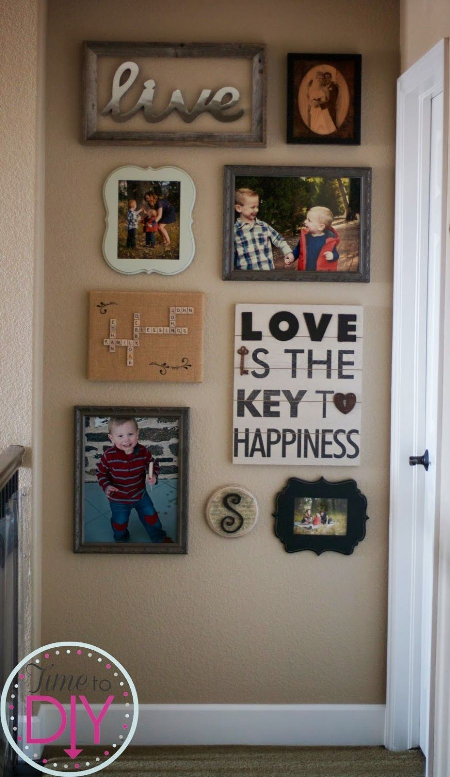 """The """"love"""" gallery wall (With images) 