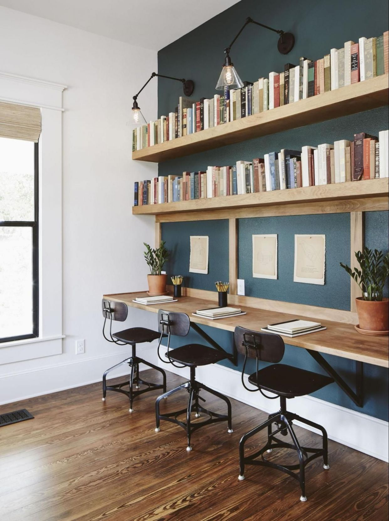 The Ramsey House from Fixer Upper | Home office decor, Ramsey ..