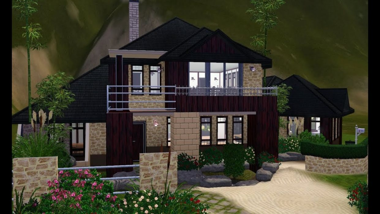 The Sims 8 House Designs - Asian Inspired - house inspiration sims 3