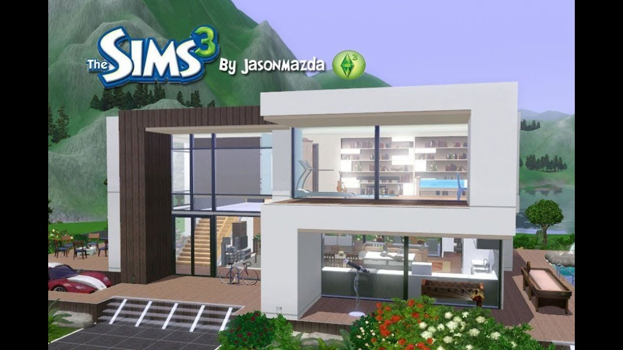 The Sims 8 House Designs - Modern Villa - house inspiration sims 3