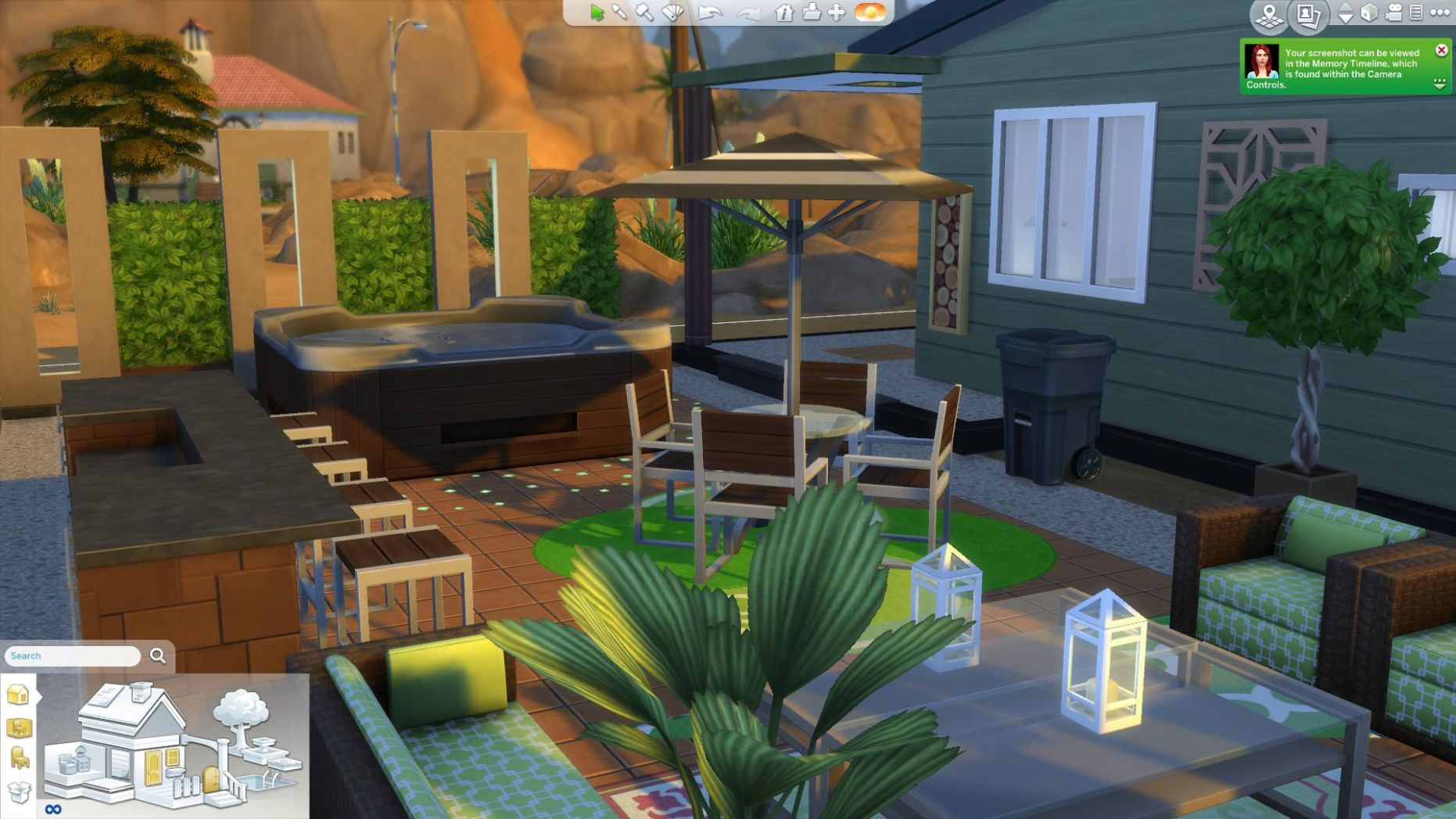 The Sims 9 Design Guide: Patio Decor - backyard ideas sims 4