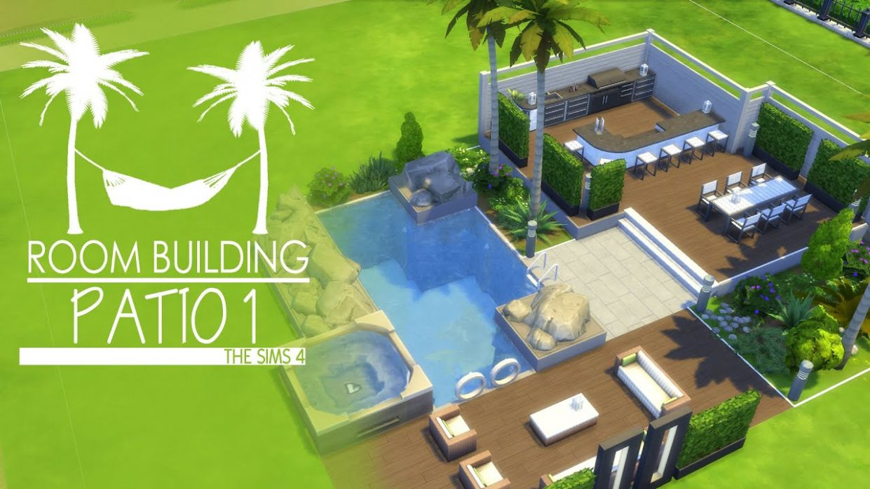 The Sims 9 - Room Build - Patio 9 - backyard ideas sims 4