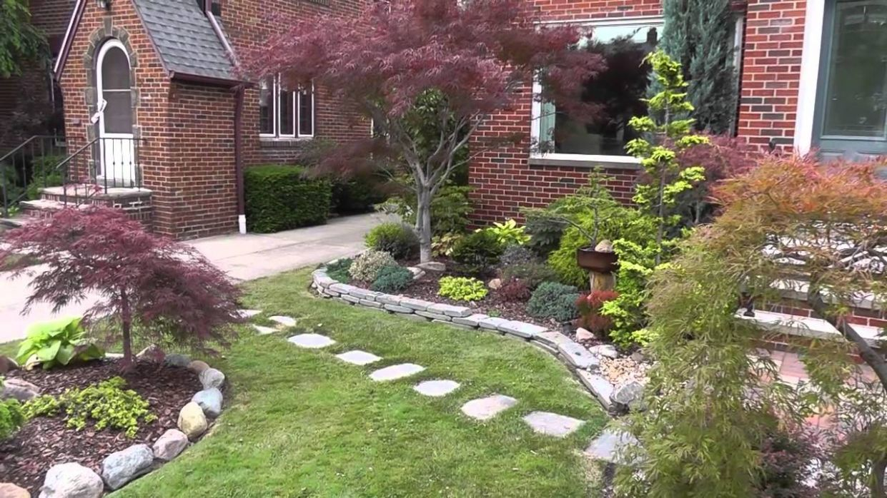 The Summer Garden - Japanese maple garden (Front yard and Bonsai) - garden ideas with japanese maple