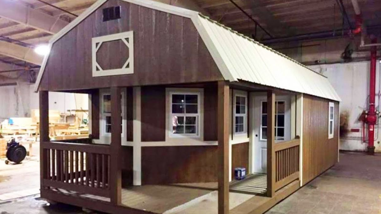 The Tiny Shed Has Been Turned Into A Full-Functioning Home - tiny house shed