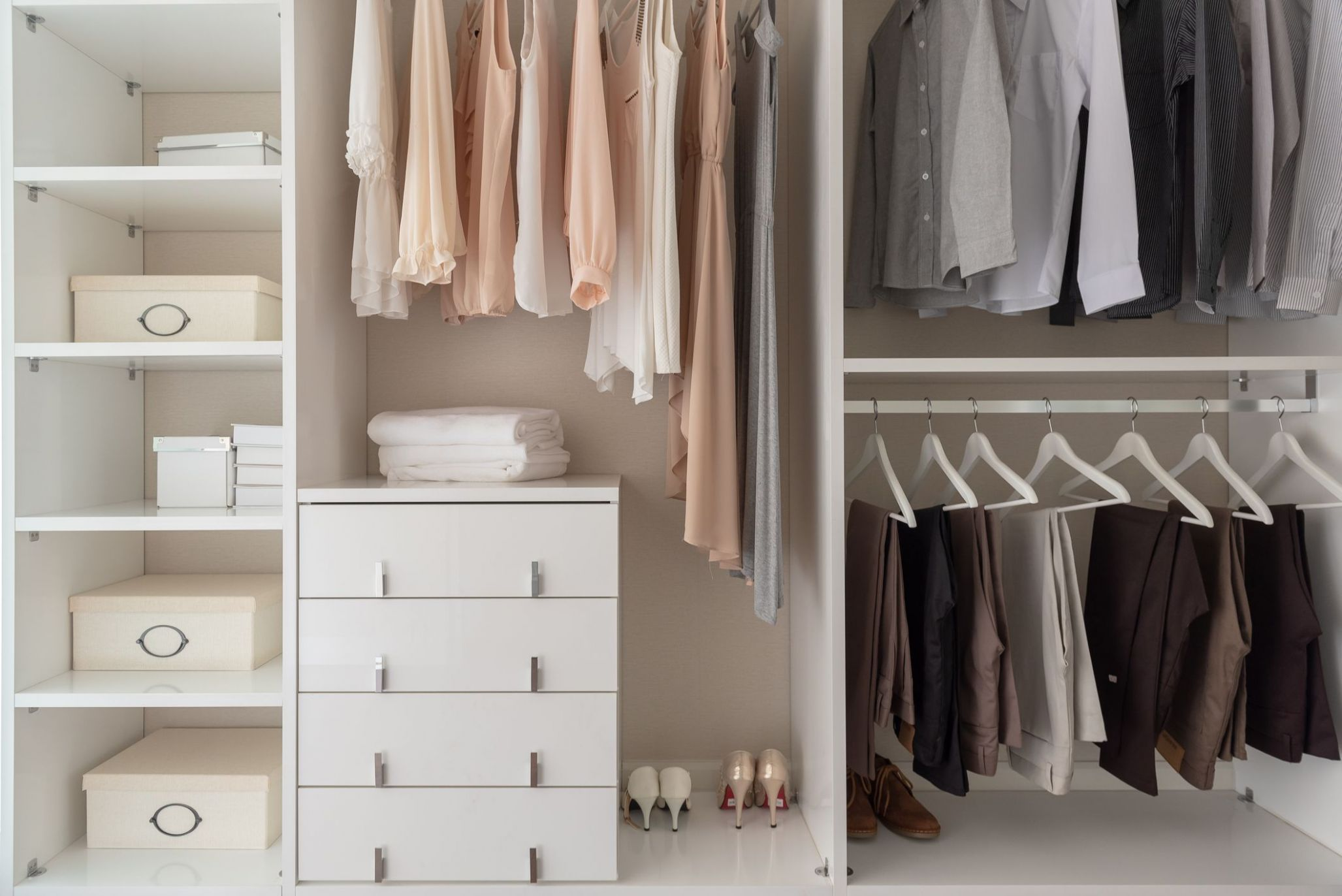 The Ultimate Guide to Organizing Your Closet - closet arrangement ideas